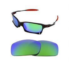 NEW POLARIZED CUSTOM GREEN LENS FOR OAKLEY X SQUARED SUNGLASSES